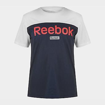 ريبوك BL قصيرة كم تي قميص رجال