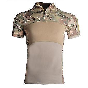 Homens Camisa do Exército Militar, Camisas de Combate ao Ar Livre