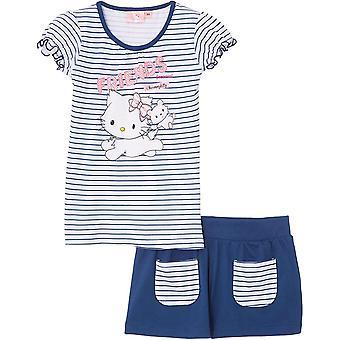 Girls Charmmy Kitty Hello Kitty Summer T-shirt & Shorts Set