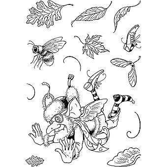 Pink Ink Designs Clear Stamp Merryfall Hobgoblin 2 A5