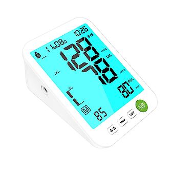Konsung smilecare upper arm electronic blood pressure monitor digital lcd pulse tonometer cuff meter monitor bp sphygmomanometer