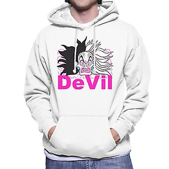 Disney Cruella De Vil Devil Men's Hooded Sweatshirt