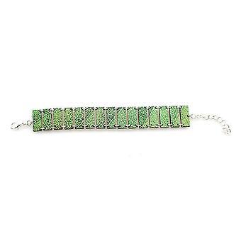 Micro Leaf Bracelet #7535a