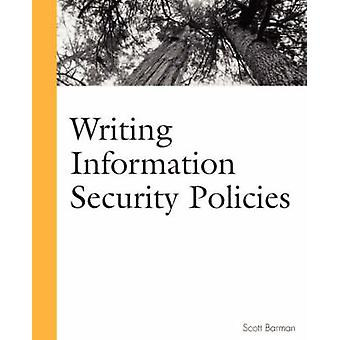 كتابة سياسات أمن المعلومات من قبل سكوت بارمان - 9781578702640
