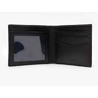 Schwarze Klassik Brieftasche - Lacoste