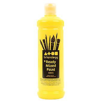 Brian Clegg Ready-mix Paint 600ml - Yellow