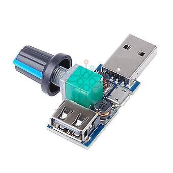 Dc 5v Micro Usb -tuulettimen säädin Tuulennopeuden ohjain