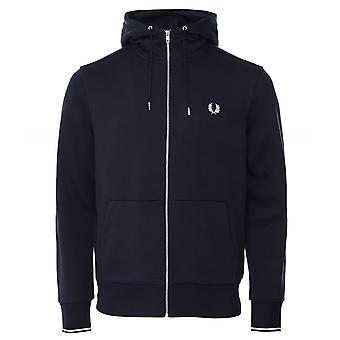 Fred Perry sudadera con capucha zip-through J7536