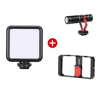 Handheld Phone Video Stabilizer Grip Tripod Mount Stand
