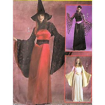 McCalls Cucito Modello 5211 Manca Sexy Witch Angel Costume Modello Taglia 14-20
