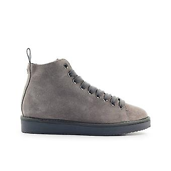 Pànchic Taupe Suède Grey Boot