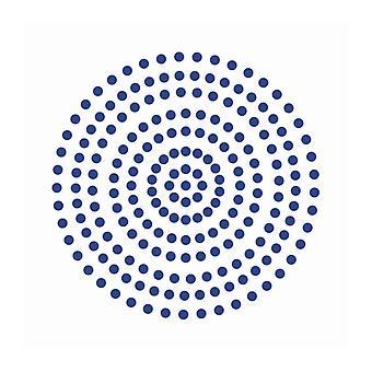 Couture Creations - Midnattsblå 3mm Pärlor (206st)