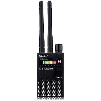 Spy Detector , Kameradetektor RF Signaldetektor GPS Bug Detector Versteckte Kamera Detektor Radio Scanner Frequenzdetektor Radar für GSM Tracking Gerät (Schwarz)