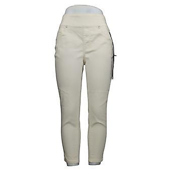 DG2 di Diane Gilman Women's Jeans MP Petite Stretch Jegging Ivory 733923