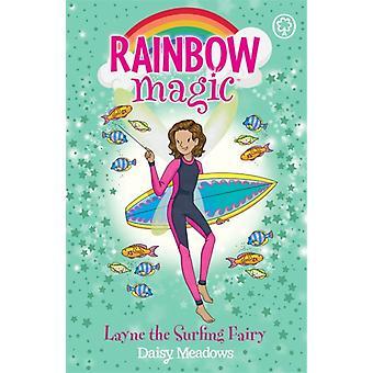 Rainbow Magic Layne the Surfing Fairy by Daisy Meadows