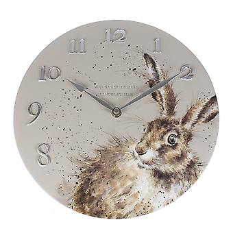 Wrendale Designs Wall Clock Hare Design