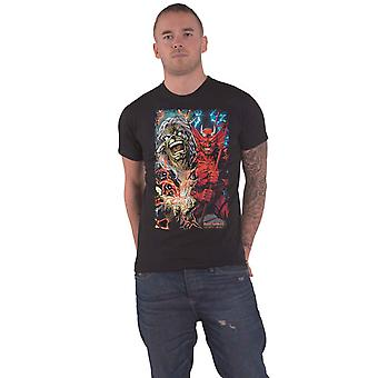 Iron Maiden T Shirt Duality Band Logo new Official Mens Black