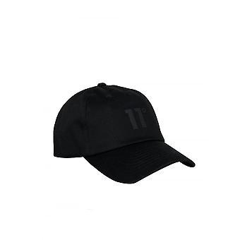 11 Degrees Blackout Baseball Cap Black