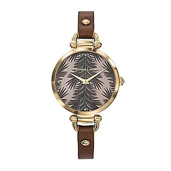 Christian Lacroix Analog Watch Quartz Woman with Leather Strap CLWE62