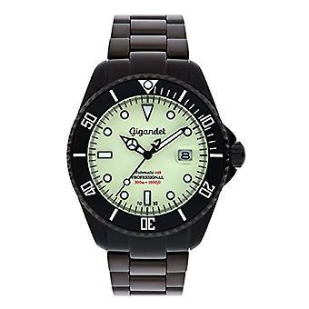 Gigandet G2-012 - Men's watch, stainless steel strap, color: black