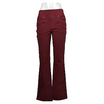 Belle af Kim Gravel Kvinders Jeans Flexibelle Boot-Cut Purple