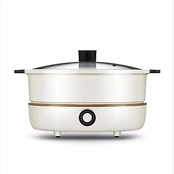 Household Electric Heating Pot, Induction Cooker, Separate Plate, Detachable