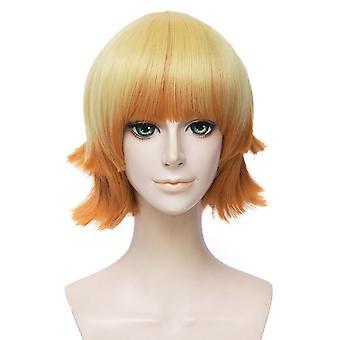 Demon Slayer Wigs Agatsuma Zenitsu Synthetic Hair Wigs