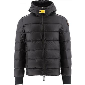Parajumpers Black Pharrell Hooded Down Jacket
