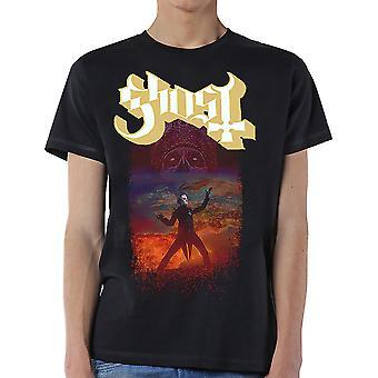 Ghost - EU Admat Mäns Stora T-Shirt - Svart