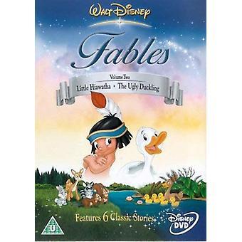 Fábulas de Walt Disney - Vol.2 DVD