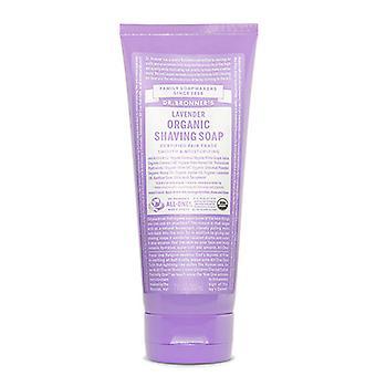 Dr Bronner's Organic Shaving Soap, Lavender 7 Oz
