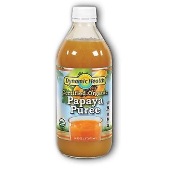 Dynamic Health Laboratories Papaya Puree, EA 1/16 OZ
