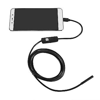 Waterproof 720p 5.5mm 2m Endoscope Borescope Inspection Scope For Pc Android