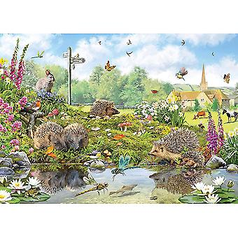 Otter House Riverside Wildlife Jigsaw Puzzle (1000 Pieces)