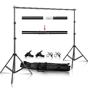 Photo Video Studio Backdrop Background Stand With Carry Bag