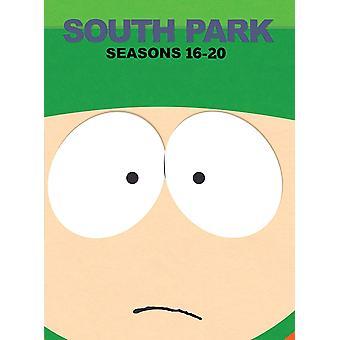 South Park: Season 16-20 DVD