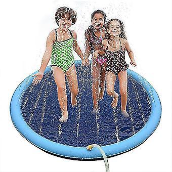 Pelaa cooling pet sprinkler matto uima-allas ulkona puhallettava vesi spraytyyny (170cm)