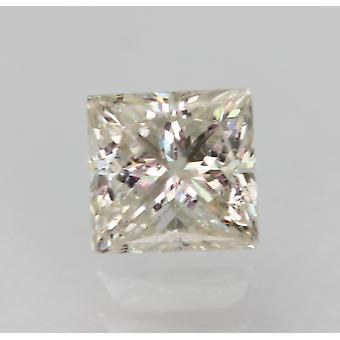 Certificado 0.48 Quilates G SI1 Princesa Aprimorada Diamante Natural Solto 4.17x4.07mm
