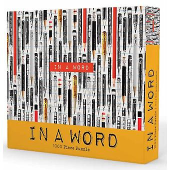 1000piece puzzle In a Word by Gibbs Smith