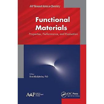 Propiedades de los materiales funcionales Rendimiento y evaluación Aap Notas de investigación sobre química