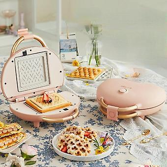 3 i 1 elektriska våfflor Maker smörgåsar press matlagning apparater bubbla äggkaka