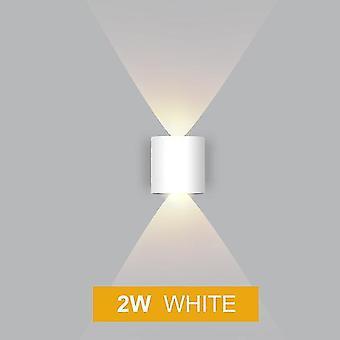 Led wandlamp ip65 outdoor waterdichte tuin verlichting ac86-265 alluminio indoor slaapkamer