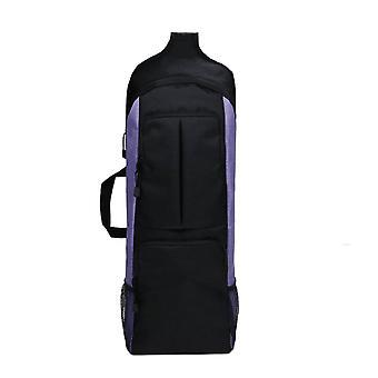 Mimigo Yogamatte Tasche | Yoga Tragerucksack mit vielseitigem Aufbewahrungsnetz und Reißverschlusstaschen