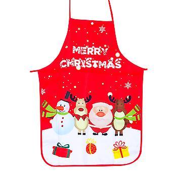 Homemiyn Christmas Aprons Adult Santa Apron Christmas Cooking Apron For Christmas Restaurant House Kitchen Supplies