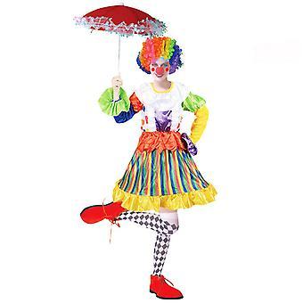 Disfraz de payaso de Halloween Disfraz de espectáculo de circo