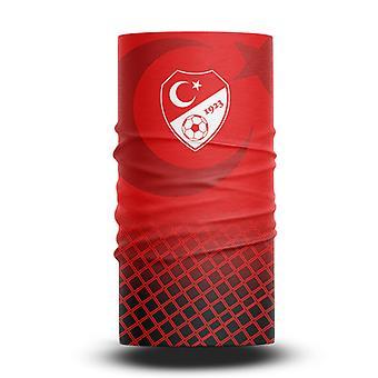 ネックガイターズフットボールヘッドスカーフワールドカップファン男性と女性多機能カラースポーツライディング日焼け止めビブ - トルコチーム