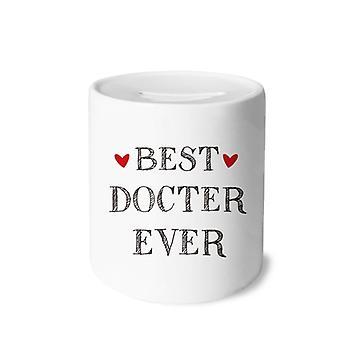 أفضل طبيب من أي وقت مضى اقتباس طباعة السيراميك الخنزير البنك