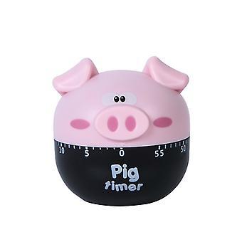 Sveglia da cucina Cartoon Pig Kitchen - Khaki
