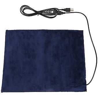 """5v 2a USB USB Usb Usb מחמם כרית חימום גוף עבור בגדים מושב חיות מחמד חם 24x30 ס""""מ 45 כרית כביסה"""
