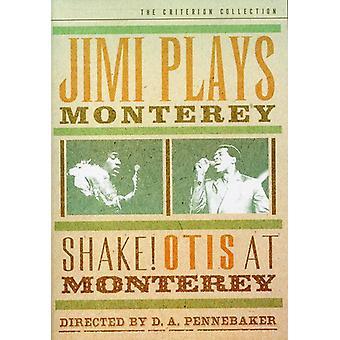 Jimi spiller Monterey & riste [DVD] USA importere
